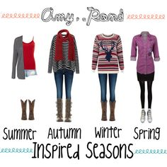 """*Amy Pond* Inspired Seasons"" by ilovejennalots on Polyvore"