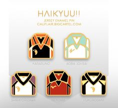 Anime Inspired Outfits, Anime Outfits, Anime Crafts, Kawaii Accessories, Anime Merchandise, Cool Pins, Karasuno, Pin And Patches, Haikyuu Anime