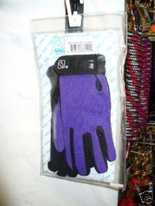 Ssg Glove Horse Riding Childs Show Gloves Tack Purple by SSG. $24.99. Ssg Glove Horse Riding Childs Show Gloves Tack Purple : SSG ALL WEATHER RIDING GLOVE CHILDS UNIVERSAL SIZE 4-5 Schooling, Show Jumping, Hacking, Barrel Racing, Carriage Driving, Race Riding or Driving . Unlined, long wearing and machine washable . Soft aquasuede plus® palm . Colorfast and sweat absorbing . Strong elasticized back for a cool comfortable fit . Hook and loop wrist closure