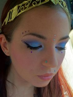 Renaissance/fairy makeup