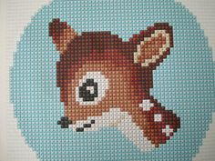 Another cute deer to cross stitch. Make him today with this easy to follow pdf pattern. _____________________________________________  WHAT PEOPLE SAY ABOUT MY CROSS STITCH PATTERNS  Love it, such easy instructions. Very cute pattern! Very easy to follow!  Cross stitch is my original craft and when I saw this pattern, I just had to have it. The pattern is easy to follow and perfect for beginners and advanced stitchers alike!!  OVERVIEW ✄ This pattern is suitable for both cross stitch and…