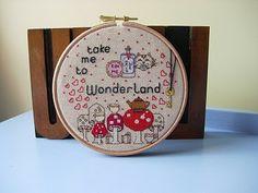 Alice in Wonderland - cross stitches - NEEDLEWORK