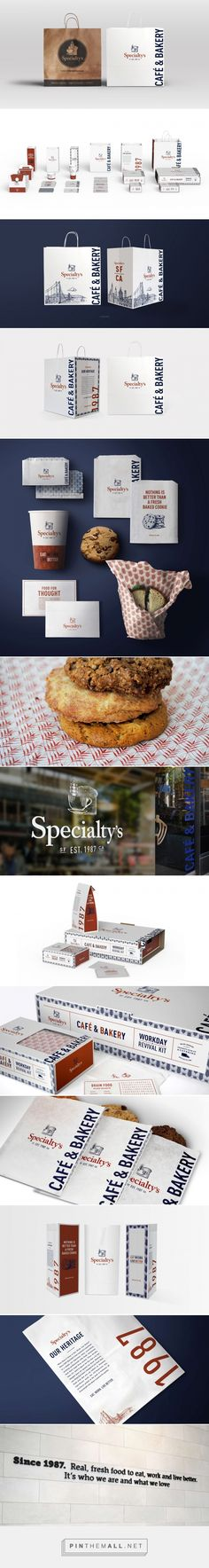 Specialty's Café and Bakery | Packaging Redesign + Branding | Creative Retail…