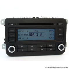 Ein gebrauchtes Doppel DIN VW CD Radio RCD 300 OHNE MP3. Mehr in unserem Shop.