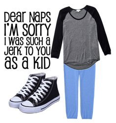 """Nap time! "" by nmackie03 ❤ liked on Polyvore featuring Uniqlo and Wilfred"