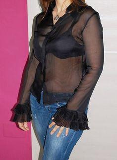 CAMICIA DONNA FENDI ROMA NERA TG42 SETA Fendi, Leather Jacket, Jackets, Fashion, Studded Leather Jacket, Down Jackets, Moda, Leather Jackets, Fashion Styles