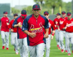 Jon Jay at the head of the pack