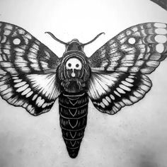 Chronic Ink tattoo Gale Blackwork-tattoo death hawk moth - The best image about diy home decor for your taste You are looking for something and you have no - Tattoos Skull, Black Tattoos, Sleeve Tattoos, Maori Tattoos, Samoan Tattoo, Polynesian Tattoos, Viking Tattoos, Blackwork, Aquarell Tattoo Schwarz