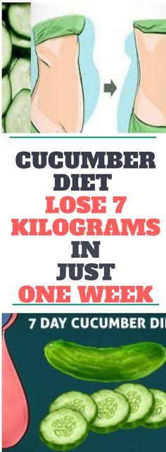 Cucumber Diet – Lose 7 Kilograms In Just One Week! Need to know!!!!