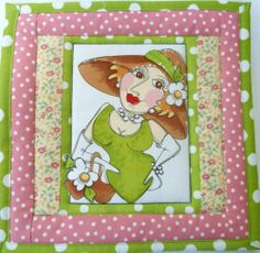 5 Mug Rugs for Sharon Snack Mats Loralie's Hot Mats Special Order | eBay