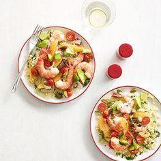 Zesty Shrimp Salad with Couscous Recipe - Delish.com