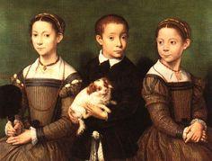 Sofonisba Anguissola -Trois enfants env. 1550
