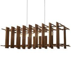Arca LED Linear Pendant by Cerno
