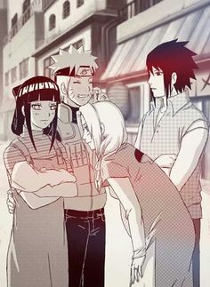 'Maybe this will happen some day in the future Naruto Hinata Sakura Sasuke' <<< THIS HAS HAPPENED!!