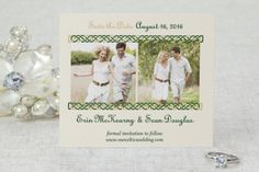 Save the Date Cards - Celtic Wedding