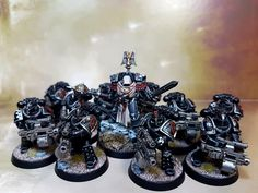 Legion Characters, Imperial Fist, Dark Angels, Space Wolves, Warhammer 40k Miniatures, The Grim, Angel Art, Warhammer 40000, Space Marine