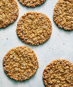 Sesame Cookies With Cardamom and Orange Zest — Real Simple Baking Recipes, Cookie Recipes, Dessert Recipes, Yummy Recipes, Sweet Recipes, Keto Recipes, Recipies, Recipe For Sesame Cookies, Sesame Seeds Recipes