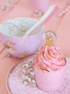 Cupcakes rosas para terminar el 2013