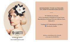 YO-laketti    Designed and thought by Kirsi Nisonen & Bob Helsinki, produced by Cailap  http://facebook.com/YO-laketti