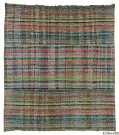 Vintage Turkish Rag Rug (Chaput)