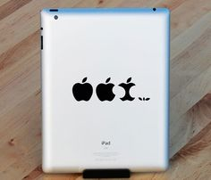 Apple Evolution Decal Set.