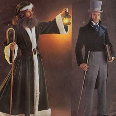 Butterick 3648 Men's Historical Costumes Sewing by retrowithlana, $18.00