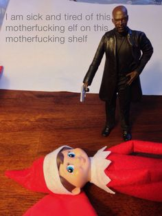 Enough with the Elf on the Shelf