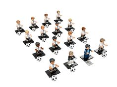 Collect the LEGO® Minifigures, DFB – The Mannschaft series