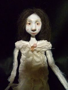 Letit, art doll ooak, ADE.  via Etsy.
