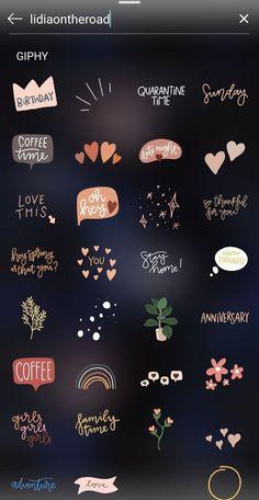 Instagram Blog, Instagram Editing Apps, Instagram Emoji, Iphone Instagram, Instagram And Snapchat, Instagram Story Ideas, Instagram Quotes, Snapchat Search, Instagram Story Template