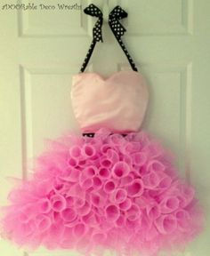 Princess Ballerina Wreath by aDOORableDecoWreaths on Etsy