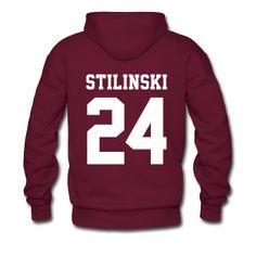 """STILINSKI 24"" - Hoodie (XL Logo, NBL) | BEACON HILLS LACROSSE Merchandise (All…"
