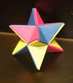 O QUE É MEU É NOSSO: Origami - Estrela Yoshino - Yoshino Star - Maekawa Jun Mais