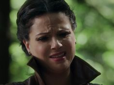 "Regina resisting the idea of crushing the unicorn's heart, ""It's innocent"""