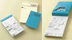 """Tear a little to spit your gum out :P """"Ingenious Perforated Graph Paper Lets You Easily Tear Out Any-Sized Notes"""""""