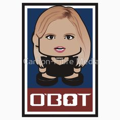 Ann Coulter Politico'bot Toy Robot 2.0 | #AnnCoulter #obot #toy #robot #politics #pundit #chibi #kawaii #cute #equaloppcutie #spreadLOVE #politicobot #political #robots #onjenayo
