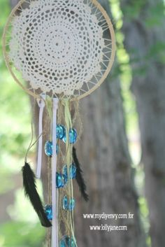 DIY Dream Catcher Wind Chime, great tradition to carry to the outdoors!