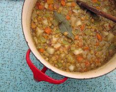 Potato  Lentil Soup