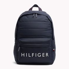 Mochila Adidas, Tommy Hilfiger Outfit, Tommy Hilfiger Wallet, Stylish Backpacks, Cute Backpacks, Mochila Kate Spade, Backpack Purse, Black Backpack, Mochila Tommy