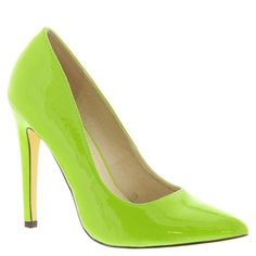 Michael Antonio Women's Lamiss-PAT1 Dress Pump, Lime, 8.5 M US