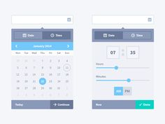 16 Best #ui #calendar #date #picker images in 2019 | Ui
