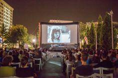 Caravana Filmelor TIFF in Parcul Palas