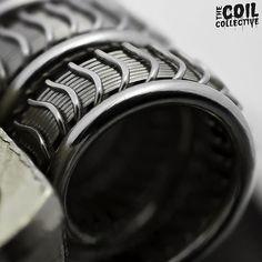 #vapeporn #vape #coilbuilds #coilart #coilporn #vapephotography #vapeart #waketovape #bbv #brokeballervapes