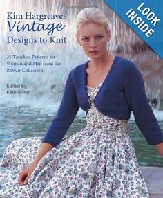 vintage designs to knit ----(50s and 60s knit patterns, it's ok but won't buy)