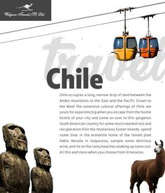 Welgrow Travels Private Limited is an established luxury travel destinations management company, which has been providing luxury tour and trip, since Travel Tours, Travel Destinations, Andes Mountains, Travel Pics, Luxury Holidays, Bustle, Pacific Ocean, Luxury Travel, Chile