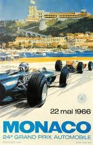 Monaco Grand Prix 1966 Movie Posters Original and Vintage