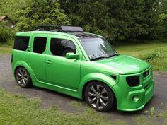 green element <3 #Honda #CustomHondas #HondaCityLI