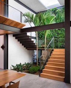 25 perfect indoor garden design ideas for fresh house 4 Interior Garden, Home Interior Design, Interior Architecture, Luxury Interior, Interior Sketch, Nordic Interior, Studio Interior, Interior Paint, Design Exterior