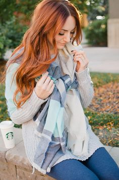It's that time of year again! Blanket Scarves are back and have never looked better. With their great oversized silhouette and soft woven fabric, you're sure to want one in every color. Our girl Jackie from Little J Style talks all things #AerieREAL and her go-to outfit when running errands around town. #Aerie