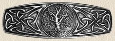 Tree of  Life Jewelry - Pewter Barrette with Tree of Life Motif, $15.50 (http://www.treeoflifejewelry.com/pewter-barrette-with-tree-of-life-motif/)